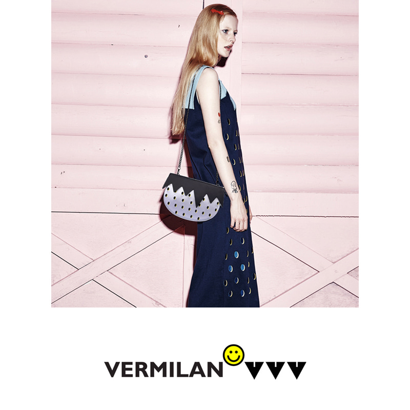 VERMILAN X VVV Strawberry Bag - silver