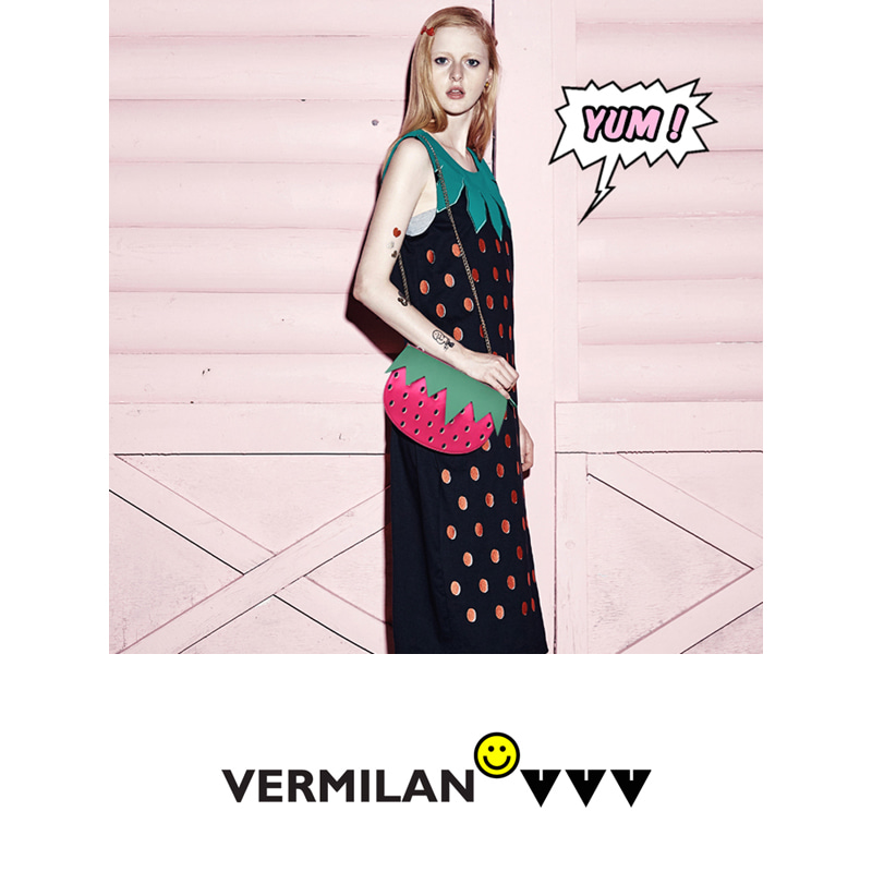 VERMILAN X VVV Strawberry Bag - pink