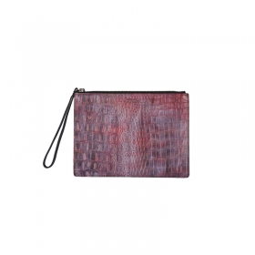 VERMILAN x minorterm clutch - red