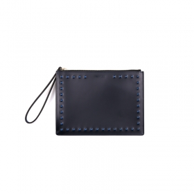 Stud Mini Clutch - blue