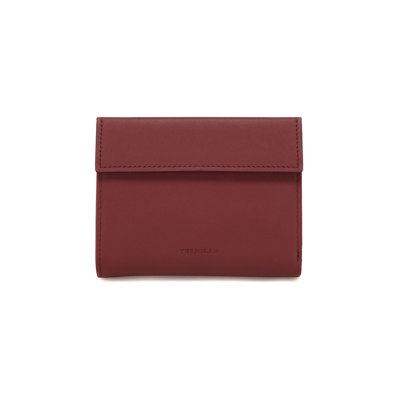TRIPLE WALLET - BURGUNDY